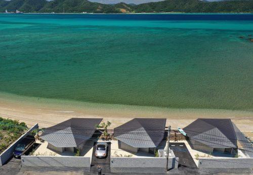 伝泊 The Beachfront MIJORA 3棟プレオープンしています。